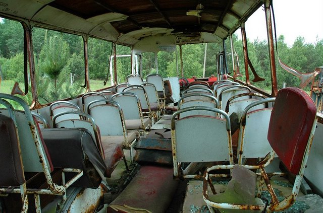 Abandoned Russian army scrap metal 15