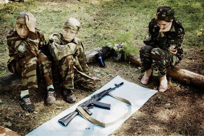 Children And Weapons