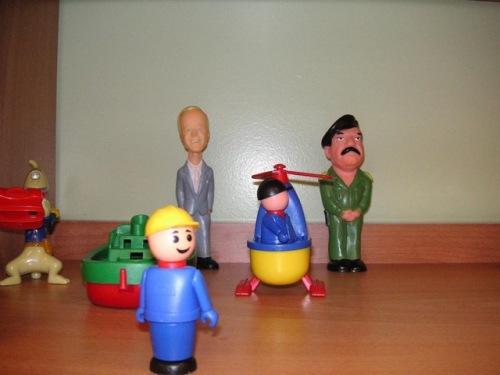 Saddam toys in Russian kindergatten 2
