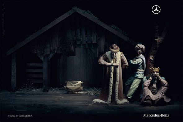 16 Inventive Christmas Ads Of All Times