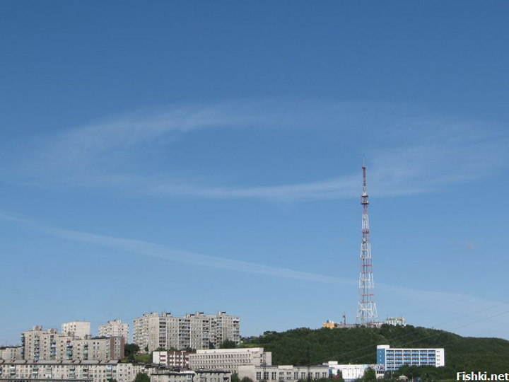 strange sky circles were spotted in Murmansk city 6