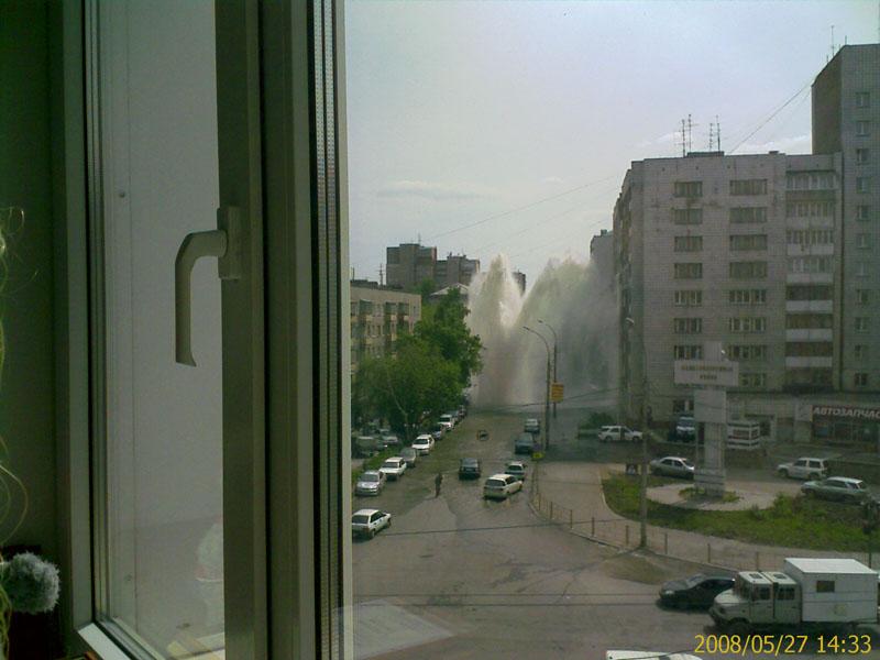 Tsunami like event in Russian city Novosibirsk 1