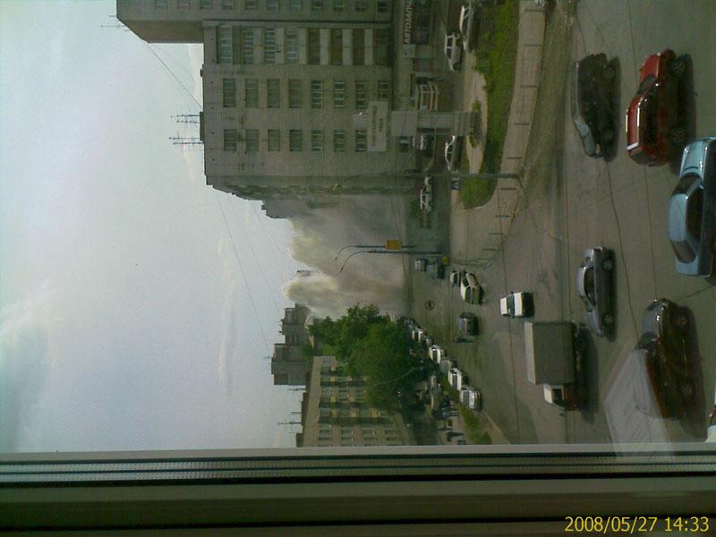 Tsunami like event in Russian city Novosibirsk 2