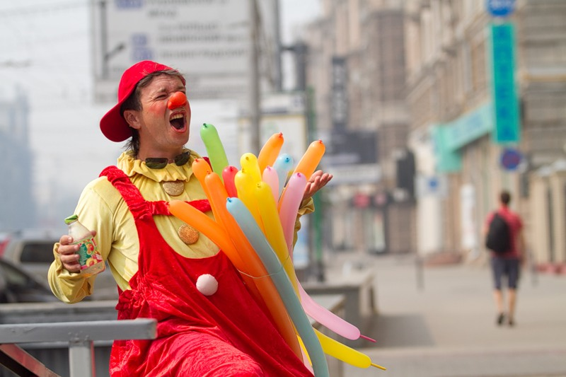Clown in the City 8