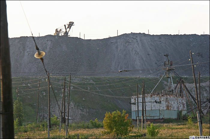 russian coal mine
