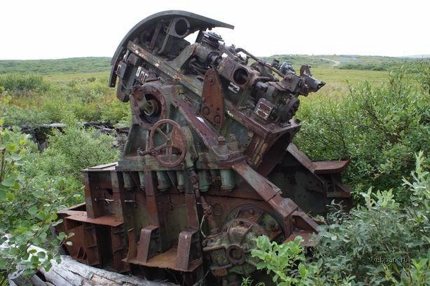 abandoned coastline canon in Russia 2
