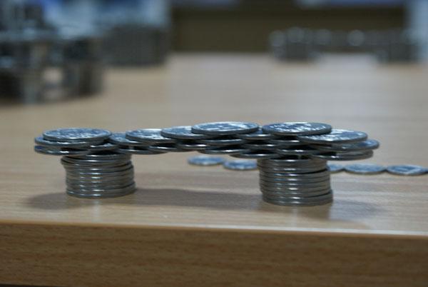 Russian coins in Ukraine 3