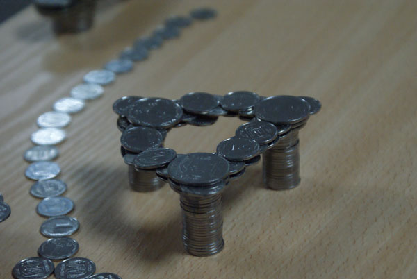Russian coins in Ukraine 5