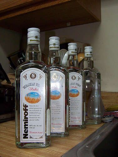 vodka from Russia 2
