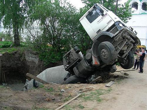 fail of concrete mix 1