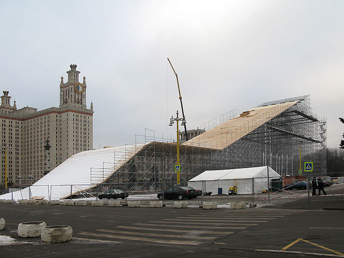 Building something near Moscow University in Russia 7