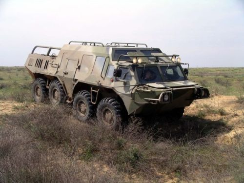 Russian military vehicle 1