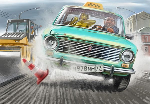 Cool Illustrations By Valery Barykin 11