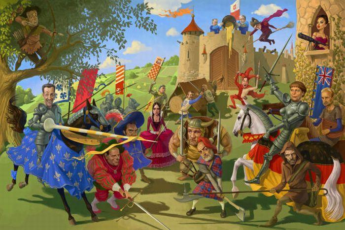 Cool Illustrations By Waldemar Kazak 30