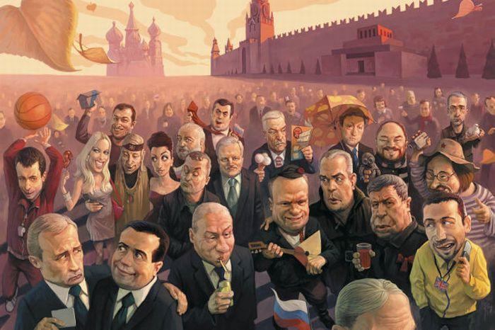 Cool Illustrations By Waldemar Kazak 31