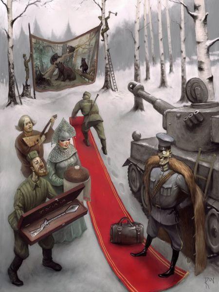 Cool Illustrations By Waldemar Kazak 8