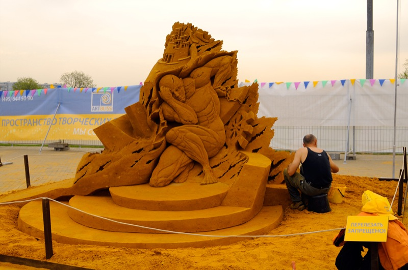 Russian Sand Sculptures 2