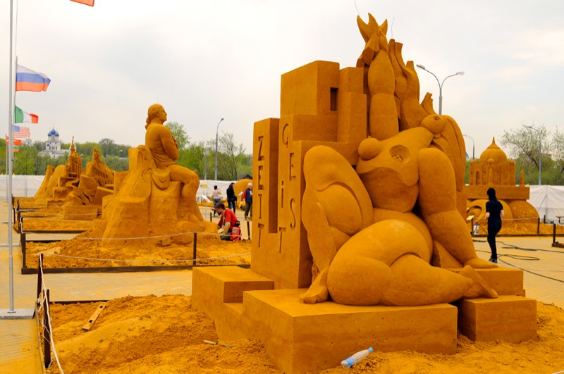 Russian Sand Sculptures 3