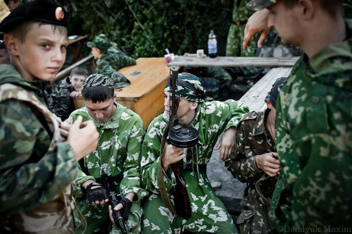 Unusual Cossack Camp