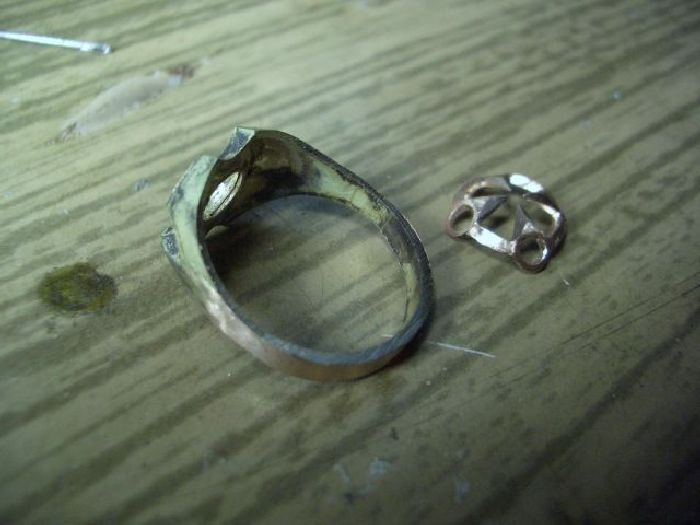 Russian Home Made Ring