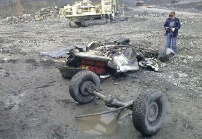 Cruel Accident in a Coal Mine 5