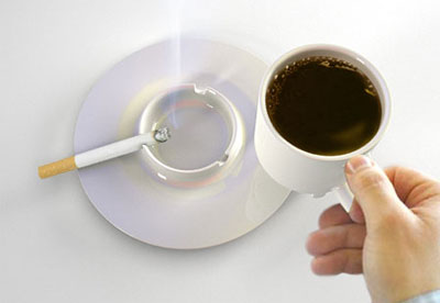 Cup with saucer-ashtray 1