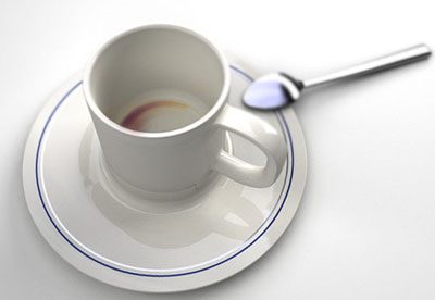 Cup with saucer-ashtray 3