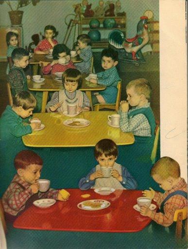 Dairy food propaganda in Soviet Russia 2
