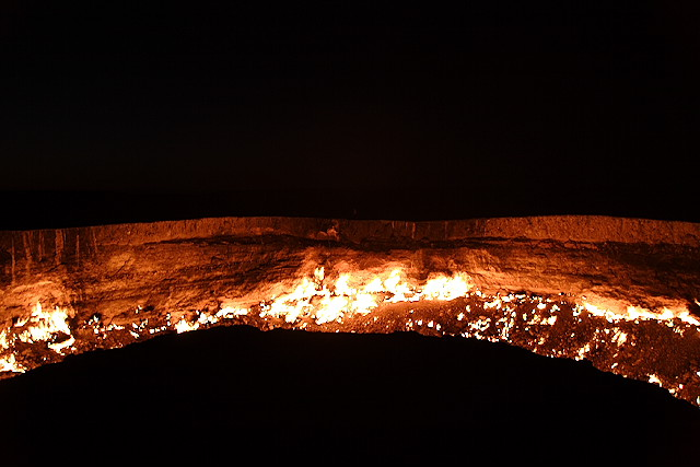 door to hell in Darvaz 7