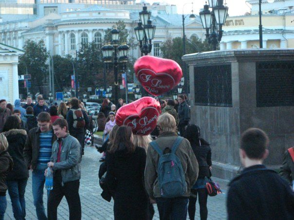 day of kisses in Moscow 10