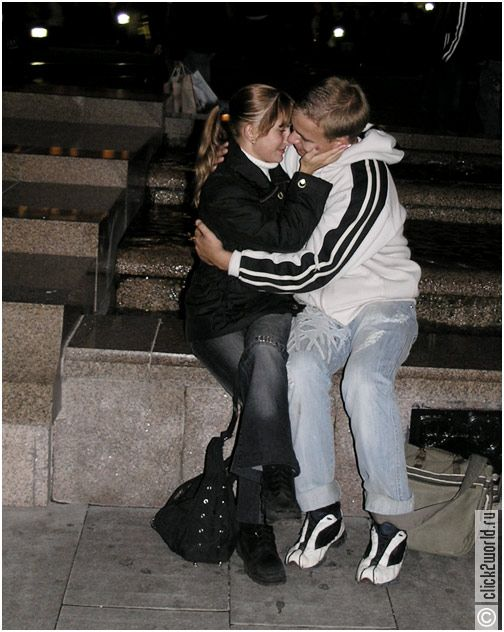 day of kisses in Moscow 16