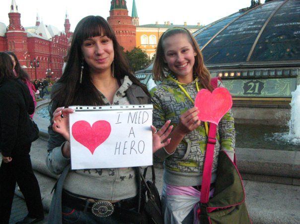day of kisses in Moscow 4