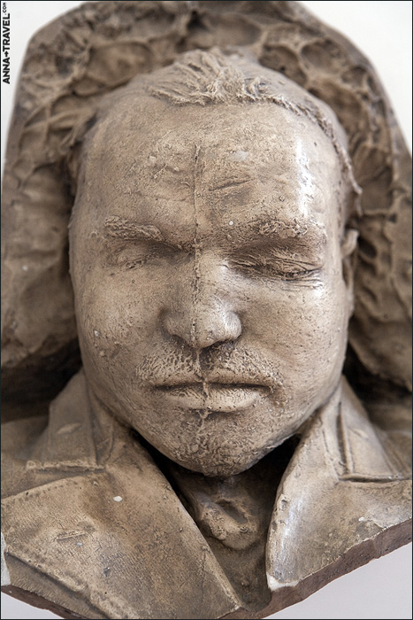 deathmasks of the famous soviet figures 4