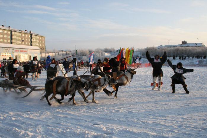 Russian deer racing 28