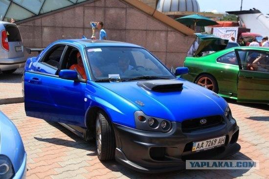 Demoauto Exhibition in Odessa