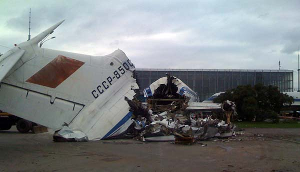 Russian plane destuction in Moscow, Russia 7
