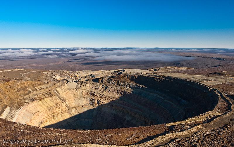 Russian diamond mine 3