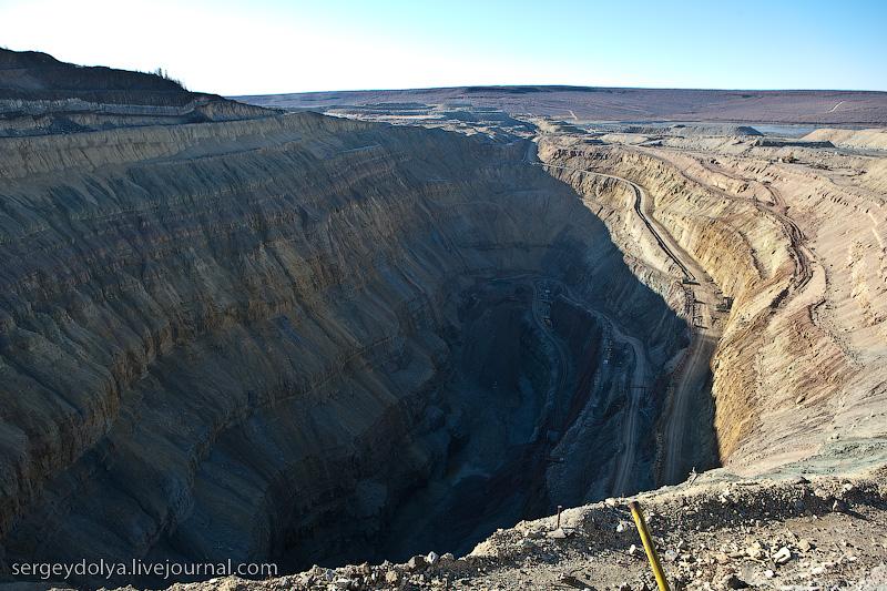 Russian diamond mine 35