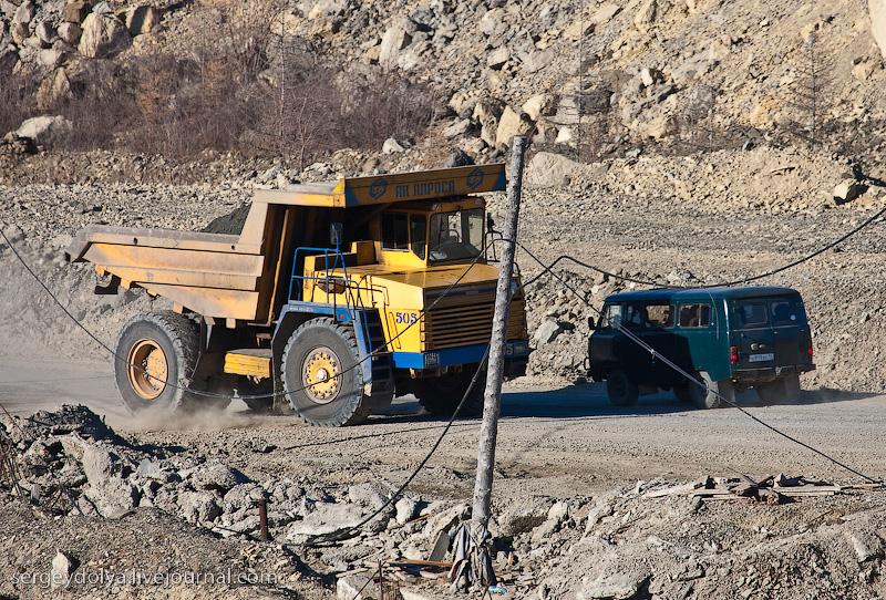 Russian diamond mine 37