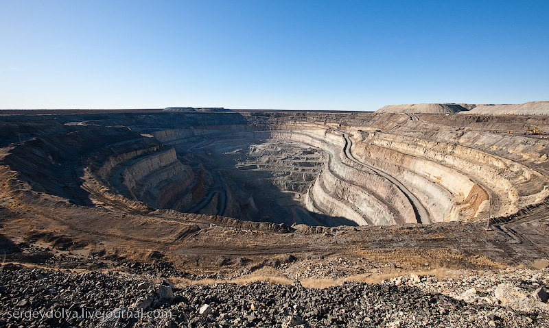 Russian diamond mine 45