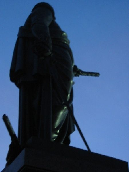 Strange angle of view on Lenin monuments 5
