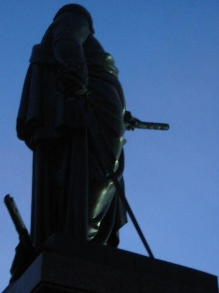 Strange angle of view on Lenin monuments 5