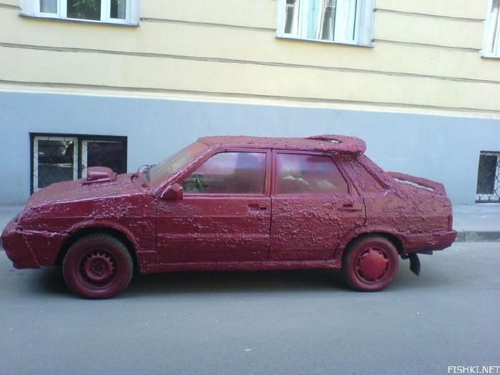 russian slime car 2