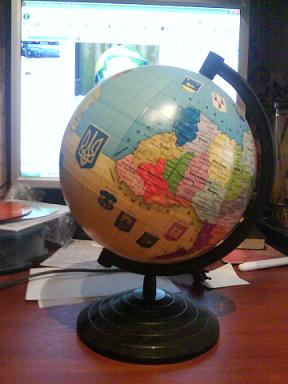 Russian DIY globes 6