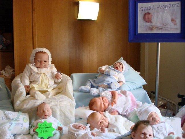 Baby Dolls Fair in St. Petersburg, Russia 13