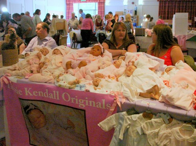 Baby Dolls Fair in St. Petersburg, Russia 16