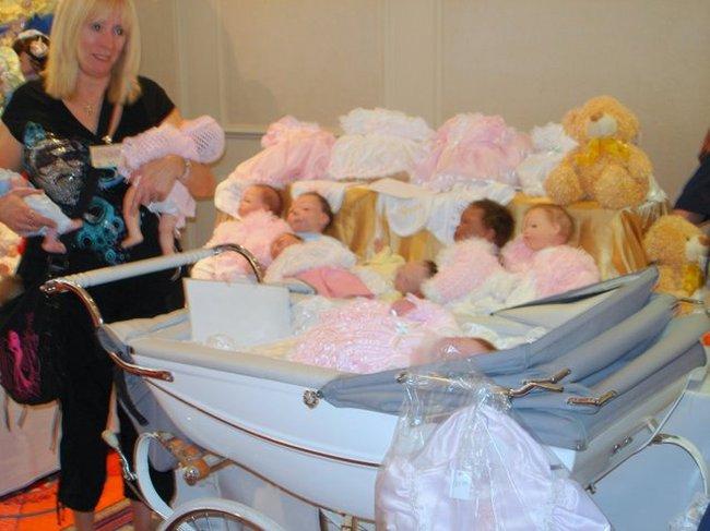 Baby Dolls Fair in St. Petersburg, Russia 2