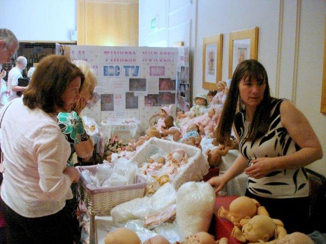 Baby Dolls Fair in St. Petersburg, Russia 3