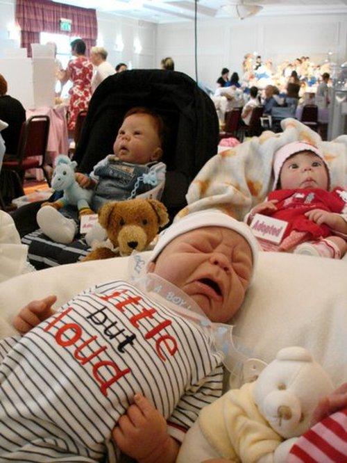 Baby Dolls Fair in St. Petersburg, Russia 33