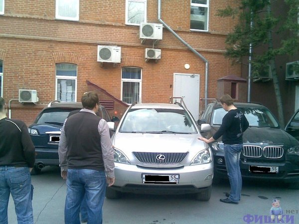 Parking in Moscow, Russia 3